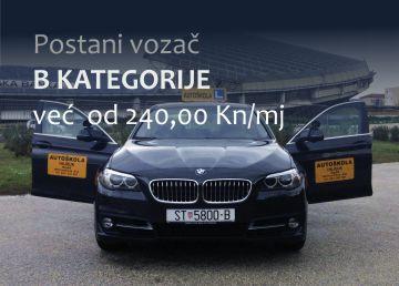 Autoškola Hajduk - B kategorija
