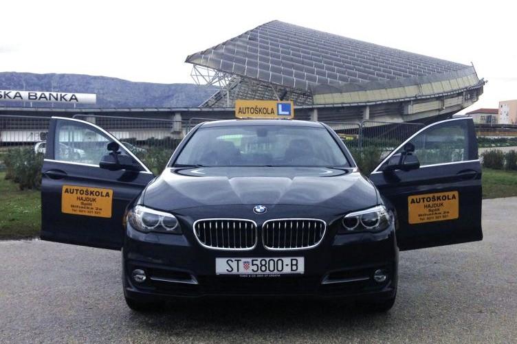 Autoškola hajduk - BMW B kategorija